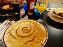 Cinnamon Swirl Pancake